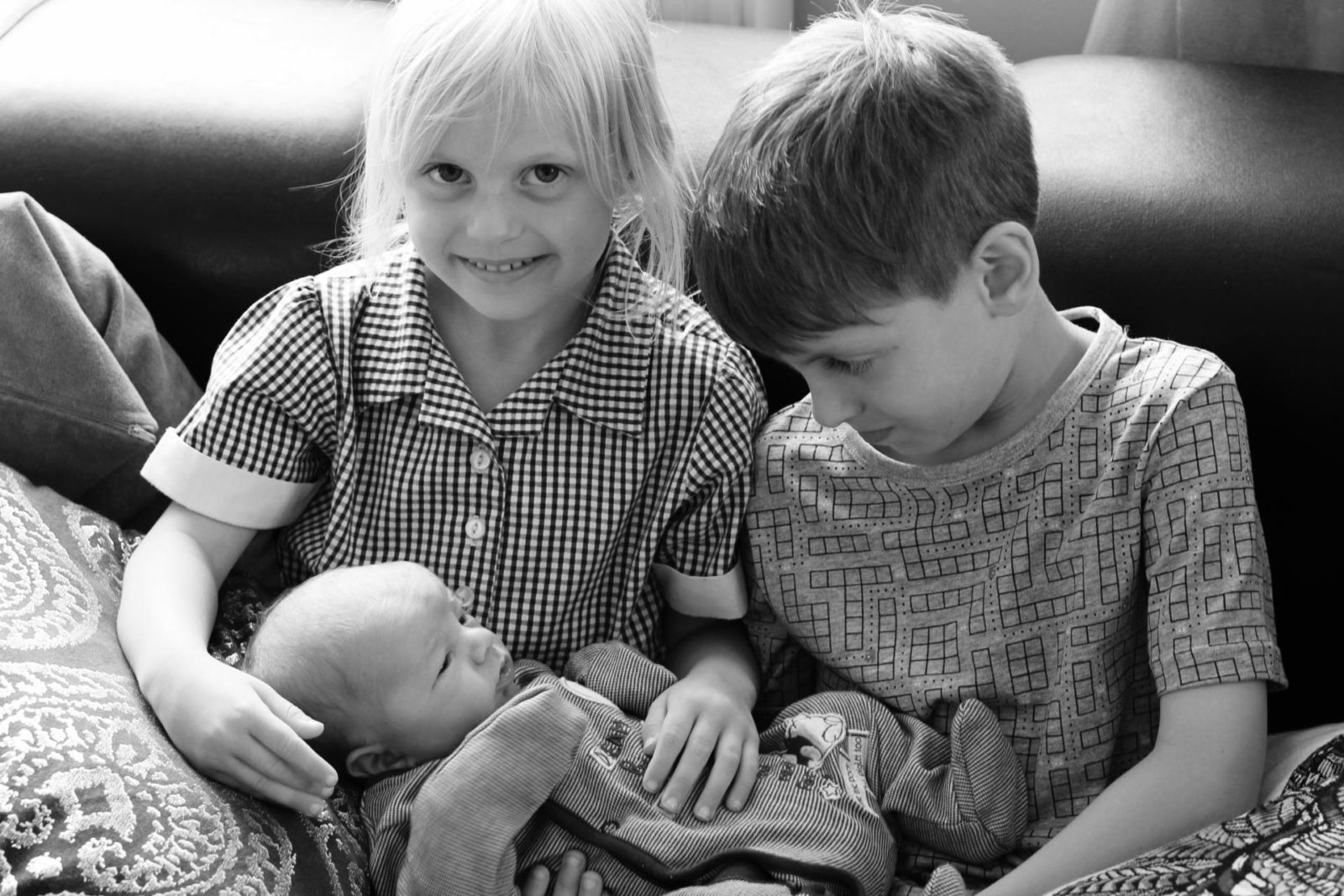 Meeting Baby Brother